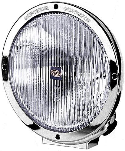 HELLA 1F8 007 560-051 Fernscheinwerfer - Luminator - Halogen - H1/W5W - 12V/24V - rund - Ref. 37,5 - transparent - Anbau - Einbauort: links/rechts