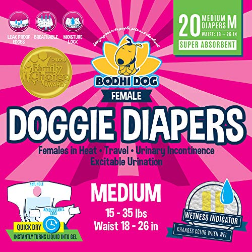 Female Dog Diaper for Bulldogs