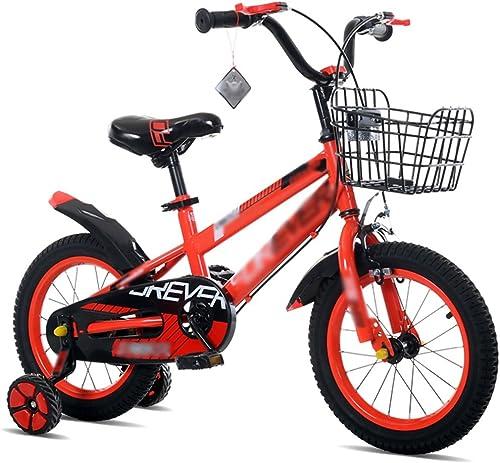 ahorrar en el despacho Bicicletas para Niños Feifei Carro de bebé 12 12 12 14 16 18 Pulgadas Bicicleta de Montaña Materiales de Acero con Alto Contenido de Carbono azul verde rojo Seguridad Moda (Color   rojo, Tamaño   18 Inch)  tienda de descuento