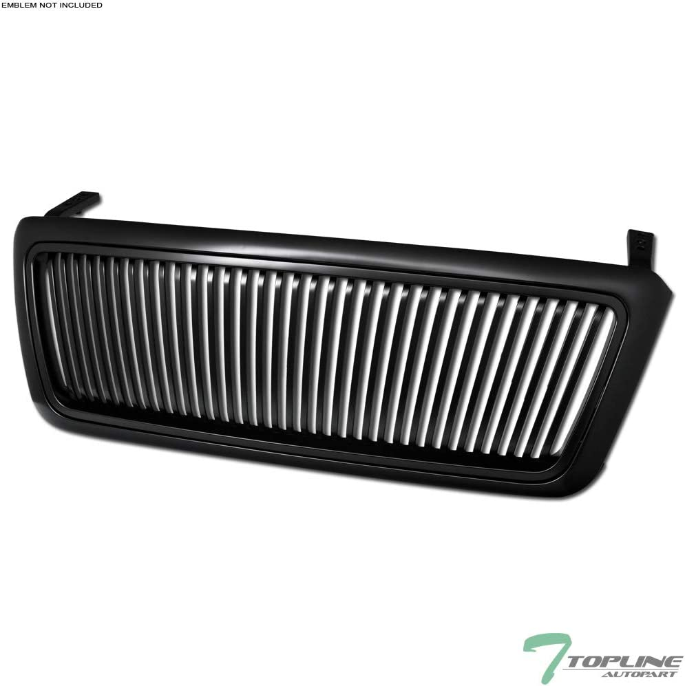 TLASP Chicago Mall 7422438945983 For 2004-2008 Ford F150 Matte Detroit Mall Black Vertical