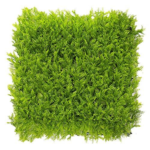 WAA Planta De SimulacióN Pared BalcóN PláStico Verde Planta Pared Mimosa CéSped Flor Colgante De Pared DecoracióN Puerta Cabeza Interior BalcóN CéSped