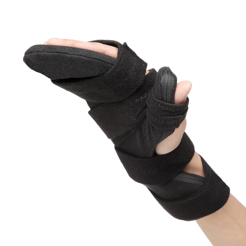 Scurnhau Resting Hand Brace Soft Night Directly managed Very popular store Stroke Splint Suppo