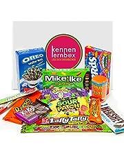 USA Jumbo Box | Kennenlernbox mit 14 beliebten Süßigkeiten aus Amerika | Geschenkidee für besondere Anlässe wie Geburtstage