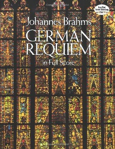 German Requiem (Breitkopf & Härtel Edition.): Partitur für Chor (Dover Vocal Scores)