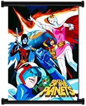 Battle of the Planets Gatchaman Anime Fabric Wall Scroll Poster (16
