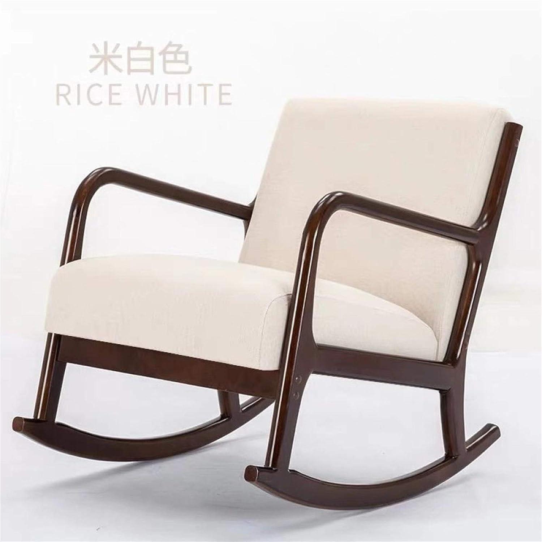 Zyuan Fauteuil À Bascule Paresseux Maison Inclinable Chaise À Bascule Chaise Simple Salon Canapé Sieste Balcon Fauteuil ShanDD (Color : E) C