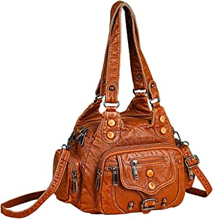 Sfly المرأة حقيبة الكتف محفظة الأزياء حقيبة رسول حقيبة ريترو لينة جلدية حمل حقيبة هوبو حقائب للنساء