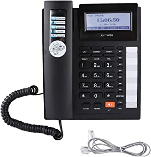Socobeta Telefono Fisso Telefono Fisso Telefoni Pulsanti Grandi Set di Estensione Telefono con Filo con Vivavoce con Displ...