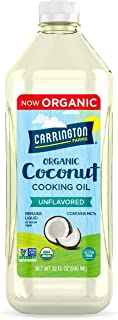 Carrington Farms gluten free, hexane free, NON-GMO, free of hydrogenated and trans fats in a BPA free bottle, liquid cocon...