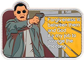 Patch Squad Men's Man On Fire Greasy Forgiveness My Job To Arrange Meeting Patch