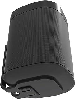 ONE, ONE SL & Play: 1 väggfäste, svart, kompatibel med Sonos ONE & PLAY1-högtalare