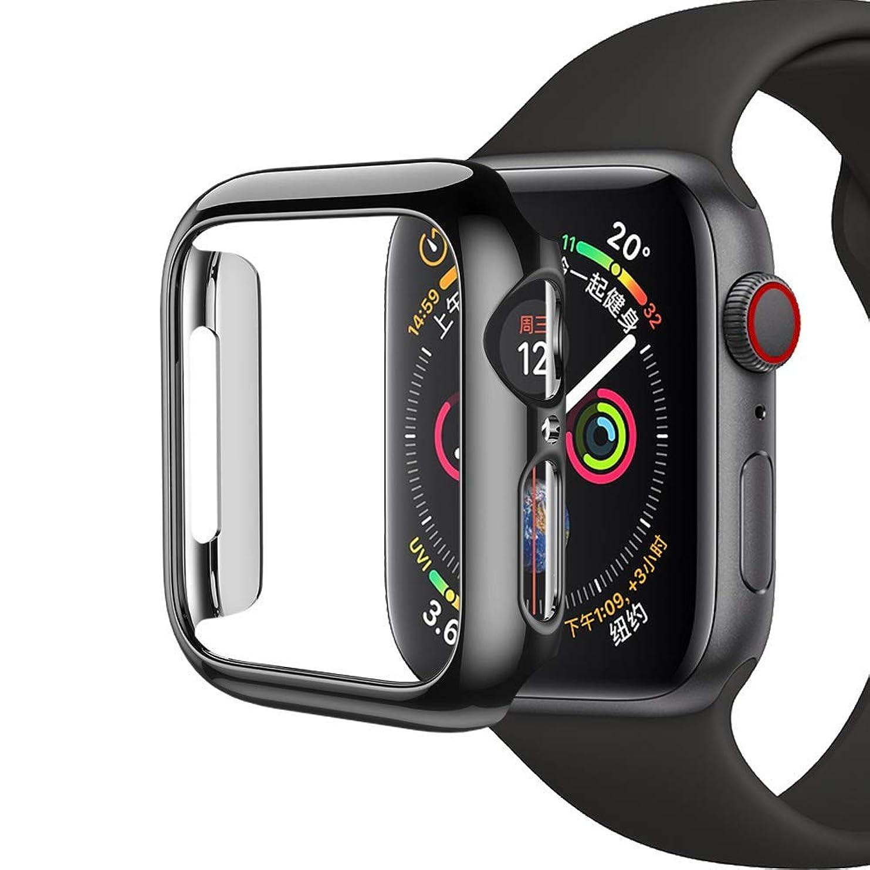 プレゼント出口きしむKoea Apple Watch Series4 / Series5に適した44mm保護カバーLCD完全保護カバー、防水カバー海水浴耐衝撃超軽量防塵、タッチスクリーンフィルム3D二重構造