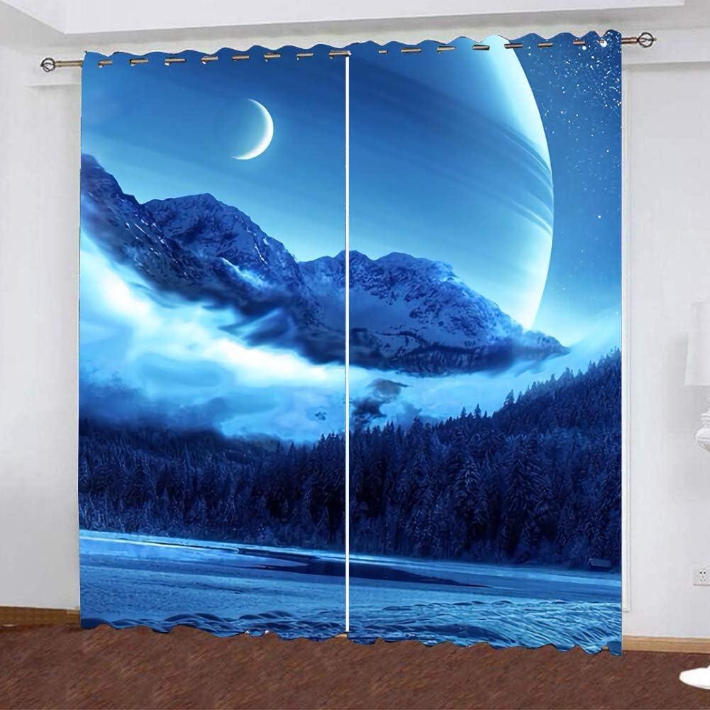 Zhangyo Kids Room Rare Window Curtains Blackout Manufacturer direct delivery Overdra Sky Darkening