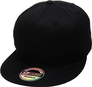ae848dd15c00c Classic Snapback Hat Blank Cap - Cotton   Wool Blend Flat Visor