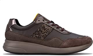 GEOX Womens Ophira Trainers Sneakers in Chestnut.