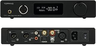 Topping Full Balanced DAC Headphone Amplifier DX7S 2ES9038Q2M 32Bit/768K DSD512 DSD USB Full Balanced DAC Headphone Amplifier