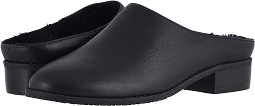Black Light Tumbled Leather