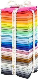 Kona Cotton Solids New Colors 2017 37 Fat Quarters Robert Kaufman Fabrics FQ-1312-37