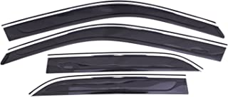 Auto Ventshade 794016 Low Profile Ventvisor Side Window Deflector with Chrome Trim, 4-Piece Set for 2011-2018 Chrysler 300