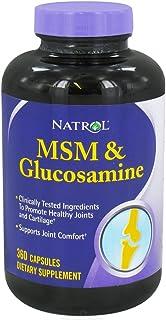 Natrol MSM and Glucosamine - 360 Capsules, 2 Pack