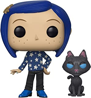 Funko 32811 Pop Movies Coraline with Cat Buddy Collectible Figure, Multicolor