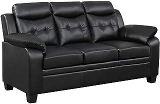 Amazon.com: Black - Sofas & Couches / Living Room Furniture: Home ...