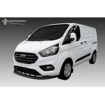 PU RDX Racedesign RDFAVX30274 Black Front Spoiler Vario-X3 Ford Transit Tourneo Connect 2013-