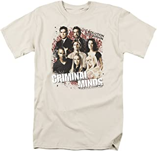 Criminal Minds TV Show CBS Solution Lies Within Adult T-Shirt Tee