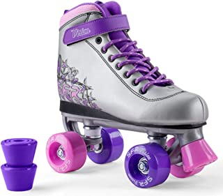 SFR VISION II PLUS Patín de ruedas para niños 2017 Patines de ruedas Patines Niñas Mujeres Roller Inliner rosa blanco púrpura menta plata plata