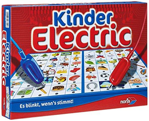 Noris 606013702 Kinder Electric Der Lernspiel-Klassiker, was passt zusammen, Es blinkt, wenn\'s stimmt, ab 4 Jahren