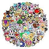 EKKONG 100 Pcs Animal Crossing Paquete de Pegatinas,Impermeable Pegatinas Moto Stickers Pegatina de Vinilo para Laptop, Coche, Maleta, Casco Bicicleta, Bicicleta, Portátiles