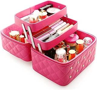 Aluminiumkosmetikkoffer tragbarer Kosmetikkoffer Kosmetikkoffer kleiner professioneller Kosmetikkoffer Kosmetikkoffer f/ür Maskenbildner//Kosmetiker