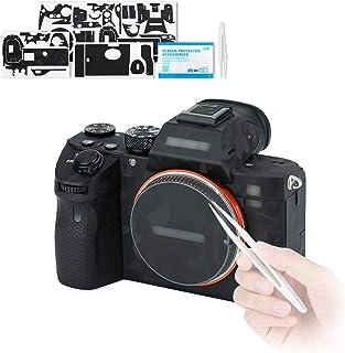Kiwifotos Naklejka chroniąca przed zarysowaniami do Sony Alpha A7 III A7R III / A7III A7RIII aparat antypoślizgowa osłona ...