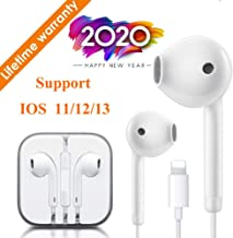 Lighting Connector Earbuds Earphone Wired Headphones Headset with Mic and Volume Control,Fast Linking,Compatible with Apple iPhone 11 Pro Max/Xs Max/XR/X/7/8 Plus Plug and Play Telescope Eyepieces