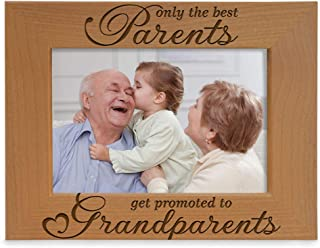 KATE POSH – Only The Best Parents get Promoted to Grandparents Picture Frame..