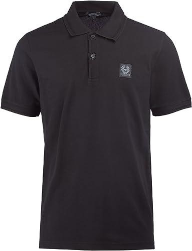 Belstaff Polo Shirt Stannett in noir