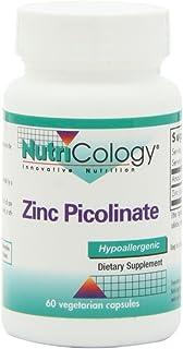 Nutricology Zinc Picolinate, Vegicaps, 60-Count