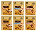 Abound Grain Free Natural Wet Cat Kitten Food Pouches - 3 Flavor 6 Pouch Bundle - Plus Denta-Net...