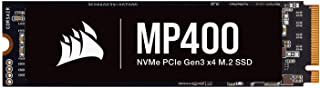 Corsair MP400 1TB Gen3 PCIe x4, NVMe M.2 SSD (Sequential Read Speeds of up to 3,4000 MB/s, Write Speeds of up to 3,000 MB/...