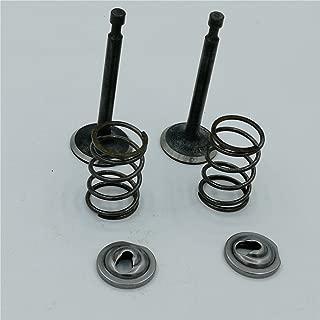 shiosheng Intake Inlet Exhaust Valve Spring Retainer Set for Honda GX340 GX390 GX 340 390 11HP 13HP 11/13Hp Gas Engine Motor Generator