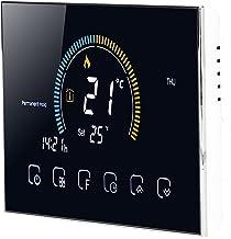 Thermostat intelligent, thermostat portable à mode programmable pour chambre à coucher pour bureau(BHT-8000GA-noir, Traduire)