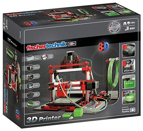 Fischertechnik 3D Printer – Construye tu Propia Impresora 3D Profesional con este Divertidísimo Juguete Educativo.