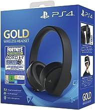 Playstation 771110 Draadloze Zwart En Goud Koptelefoon Met Fortnite-Tegoedbon Voor Ps4, Neo-Bundel (Ps4)