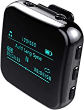 $95 » LPWCAWL Bluetooth MP3 Players, Portable Mini Voice Recorder, Multifunctional FM Radio Player with 1.1 Inch OLED Screen, On...