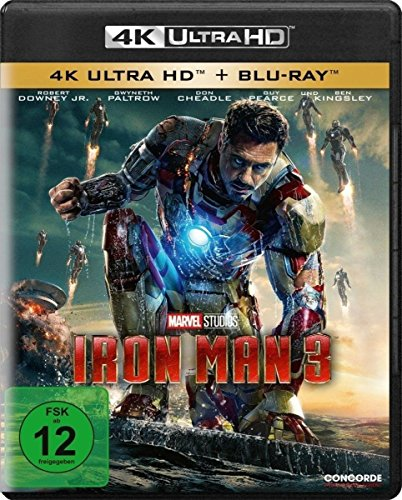 Iron Man 3  (4K Ultra HD) (+ Blu-ray)