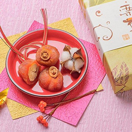 和菓子 お中元 ギフト ありがとう 老舗 スイーツ 誕生日 プレゼント / 栗きんとん / 恵那 良平堂 (栗福柿・栗きんとんセット)