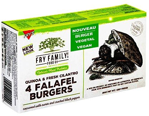 4 Steaks Burgers FALAFEL Végétale 100% VEGAN (Sans gluten, Sans soja) 260g Quinoa Burgers