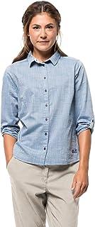 Jack Wolfskin Women's Blue Lake Organic Cotton-rayon Blend Travel Pants