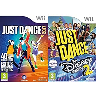 Just Dance 2017 + Just Dance: Disney Party 2 (Wii) (B01MTLSWTL) | Amazon price tracker / tracking, Amazon price history charts, Amazon price watches, Amazon price drop alerts