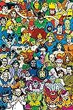 GB Eye Poster DC Comics Retro-Stimmen, Mehrfarbig